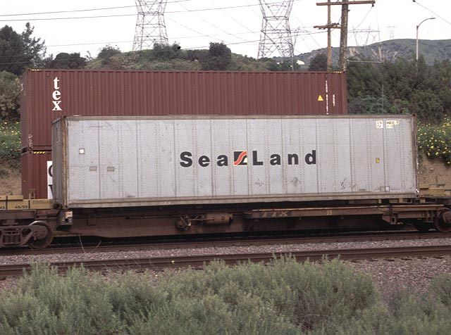 Sea Land container